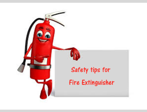 Safety tips for Fire Extinguishers